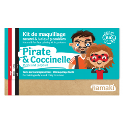Pirate & coccinelle kit de...