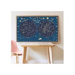 Poster Carte du Ciel + 640...