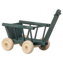 Petit wagon BLEU PETROLE -...