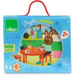 """Puzzles """"La Maison"""" - VILAC"""