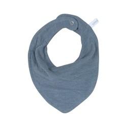 Bavoir bandana PURE BLUE -...