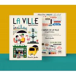 Livre La ville - MARCEL &...
