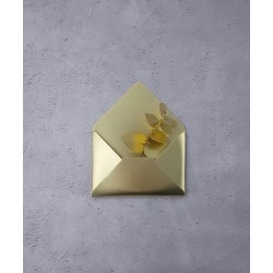 Enveloppe en laiton DORE -...