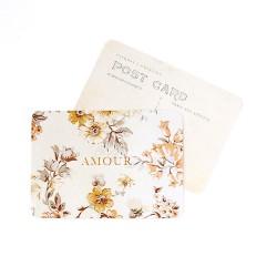 Carte postale AMOUR DORE -...