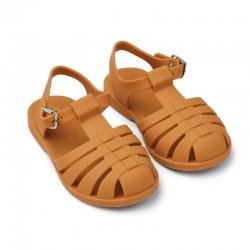 Sandales de plage MOUTARDE...