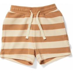 Short LOU STRIPED BISCUIT -...