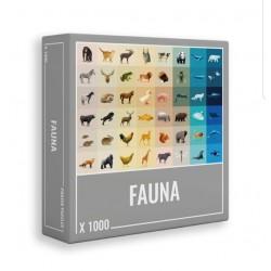 Puzzles Faune 1000 pièces 8...