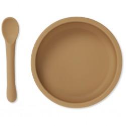Assiette creuse + cuillère...