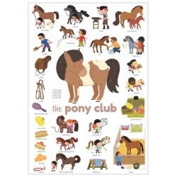 Mini poster PONEY CLUB + 26...