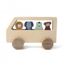 Bus en bois ANIMAUX - TRIXIE