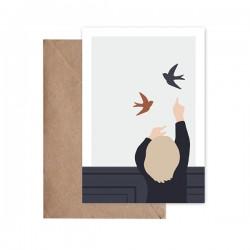 Carte Postale Show me -...