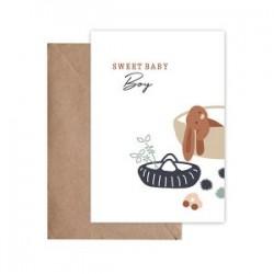 Carte Postale Sweet Baby...