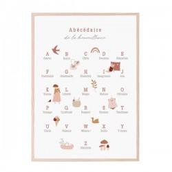 Affiche ROSE Abécédaire de...