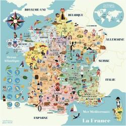 Carte de France puzzle 300...