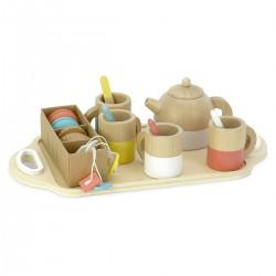 Service à thé en bois 21...